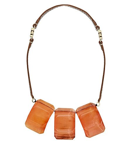 MARNI - Fabric and nautical cord necklace | Selfridges.com