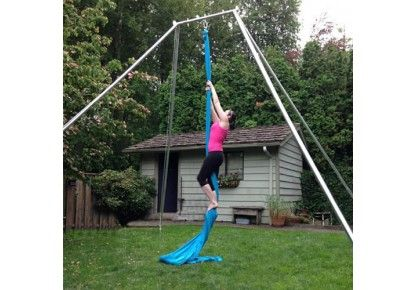 medium backyard rig  1450  aerial yoga hammock