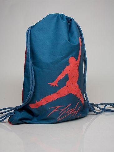 9de79b7af818 NIKE JORDAN 546467 416 JORDAN DOMINATE GYM SACK Drawstring Bag - slate -  red € 20