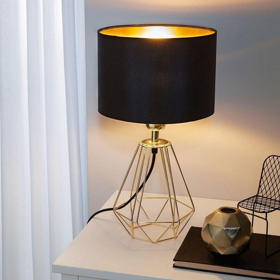 Licht Trend Tischleuchte Archaic Im Vintage Look Schwarz Gold Online Kaufen Licht Trend Lampentisch Und Tischlampen