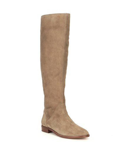 GB Love-It Oiled Suede Tall Flat Boots
