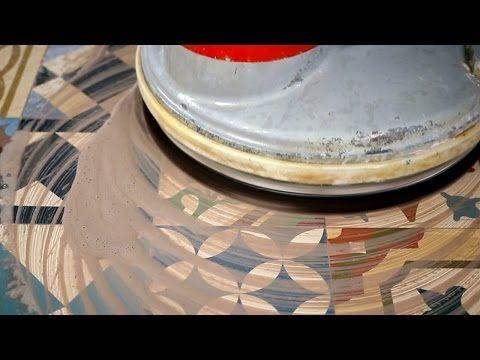 Rectifier Un Sol En Carreaux Ciment Nettoyer Les Taches Youtube Carreau De Ciment Carreaux Ciment Comment Nettoyer