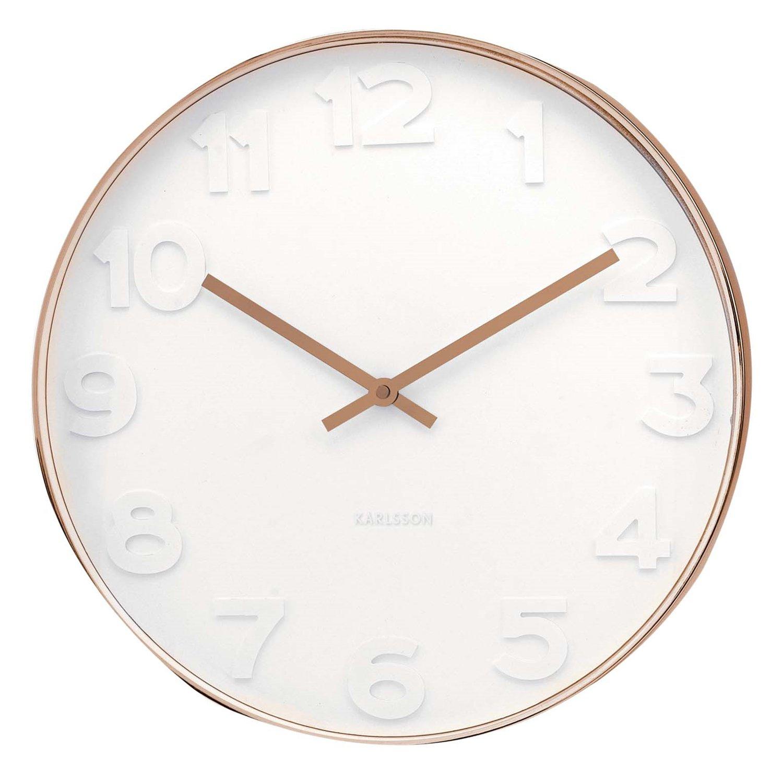 Deacon Wall Clock Small Wall Clock Wall Clock White Clocks