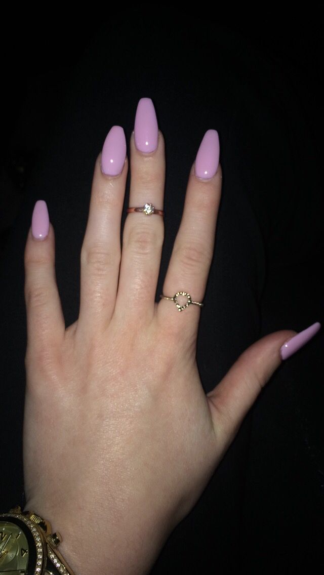 I M Obsessed With My Square Oval Nails Nails Oval Sqaure Lightpink Unhas Bonitas Unhas De Gel Unhas Decoradas
