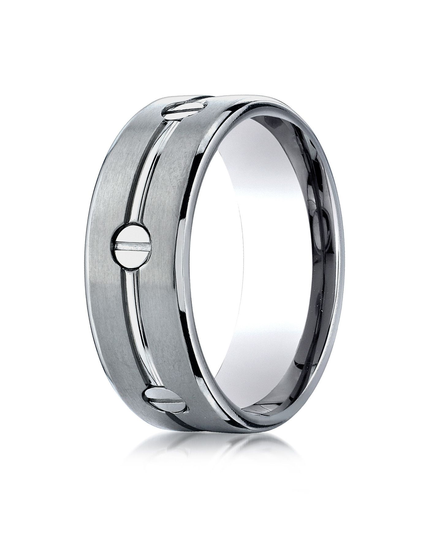 matt image from platinum rings ring titanium and polished wedding mens