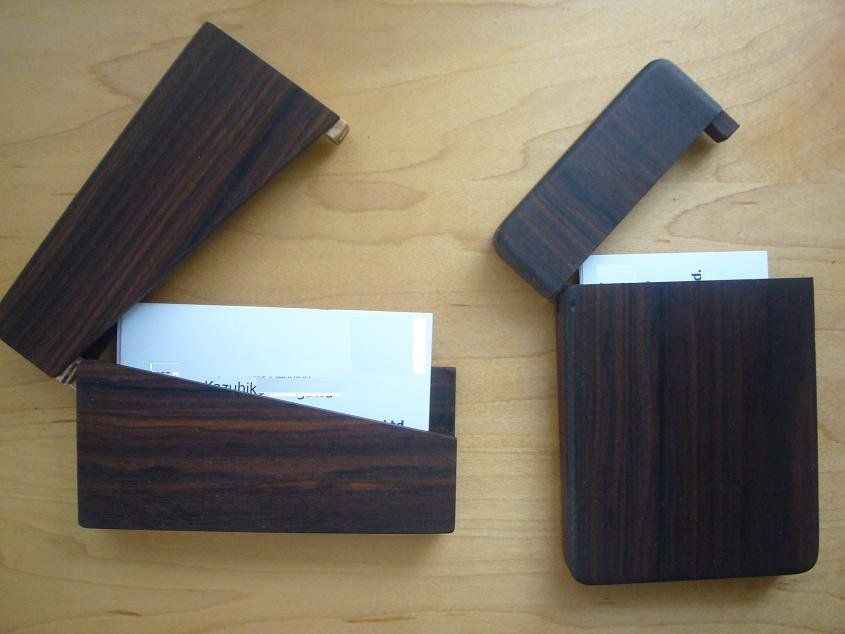 Business card case - by Vagabond55 @ LumberJocks.com ~ woodworking ...
