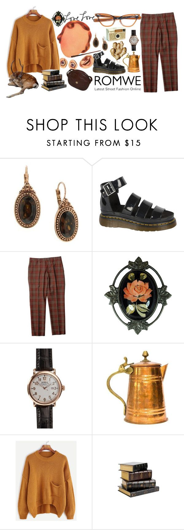 """""""warm love~"""" by elle01-1 ❤ liked on Polyvore featuring 1928, Dr. Martens, Shinola and George"""