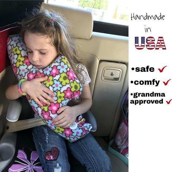 Seatbelt Pillow Car Pillow Pillow Traveling Pillow Car Etsy Travel Pillow Diy Kids Travel Pillows Travel Pillow