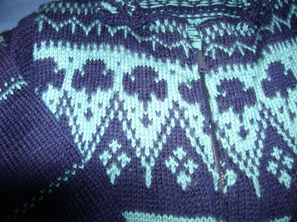 How to knit with color patterns step by step to a fair isle how to knit with color patterns step by step to a fair isle sweater bankloansurffo Choice Image