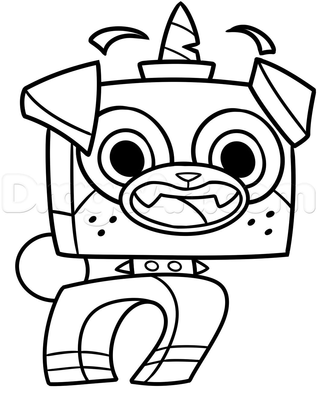 10 Coloring Page Unikitty Coloring Pages Unikitty Printable Coloring