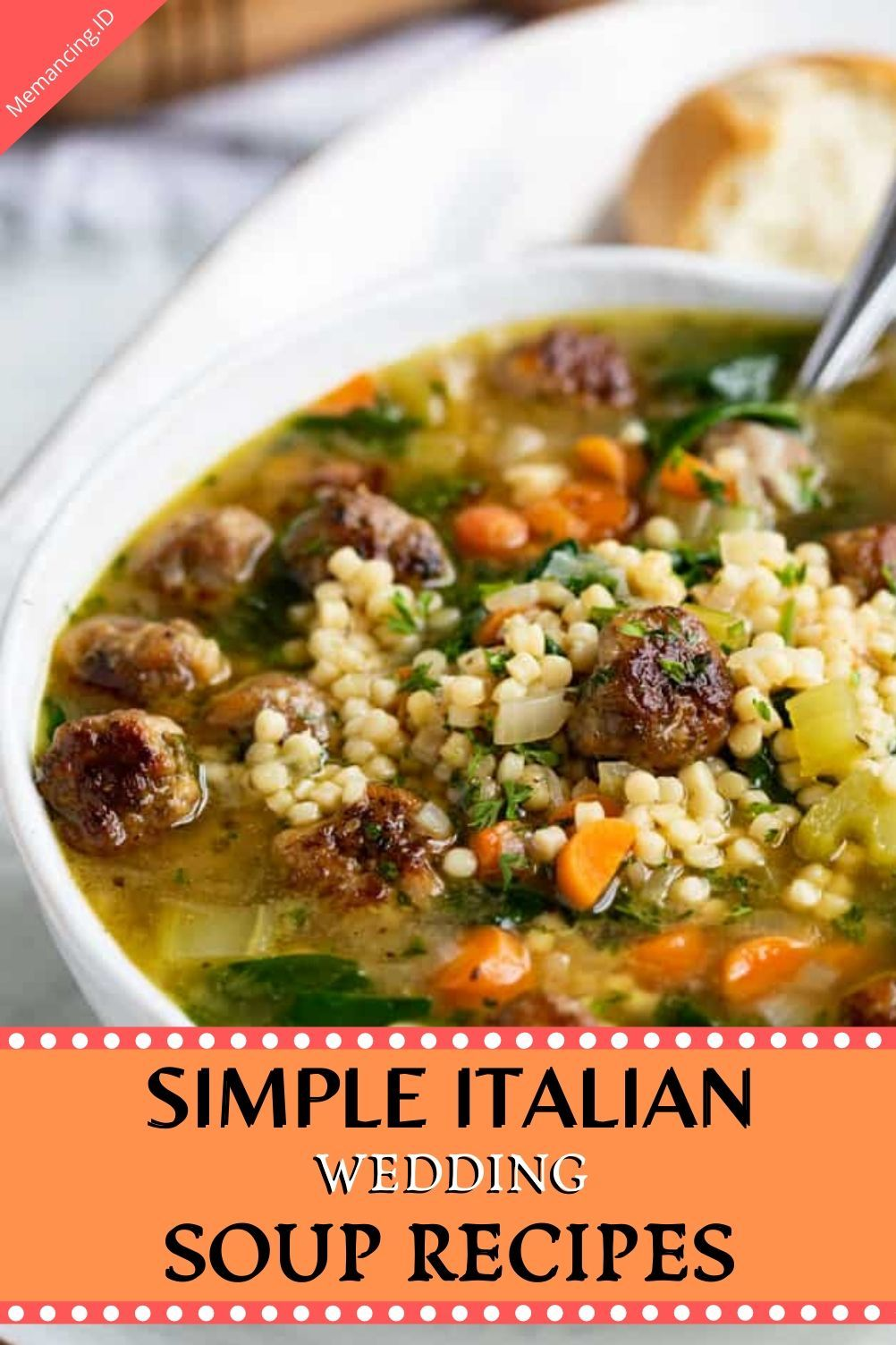 Simple Italian Wedding Soup Wedding soup, Italian
