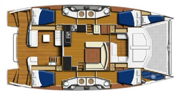 2014 Leopard 48 Sail Boat For Sale Www Yachtworld Com Catamaran Boat Building Plans Boats For Sale