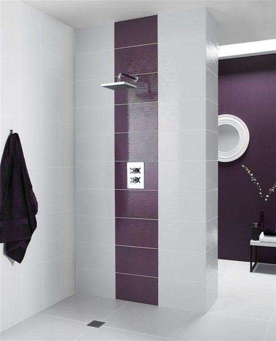 Fusion Very Berry Wall Tile Accent Tile Colour Pinned By Conceptcandieinteriors Tile Concept Candie Inte White Wall Tiles Wall Tiles Bathroom Wall Panels