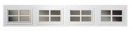 DIY Garage Repair - Clopay Window Insert Short Panel Colonial 509, $17.95 (http://www.diygaragerepair.com/products/clopay-window-insert-short-panel-colonial-509.html)
