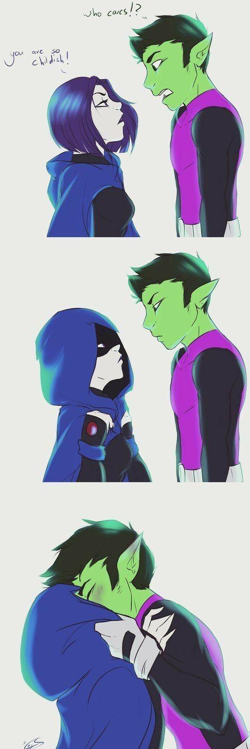 Pin By Sasha Lynn On Kisses  Teen Titans, Neue Wege -6858