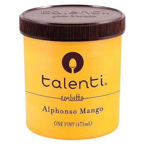 Talenti Sorbetto Mango 16 oz