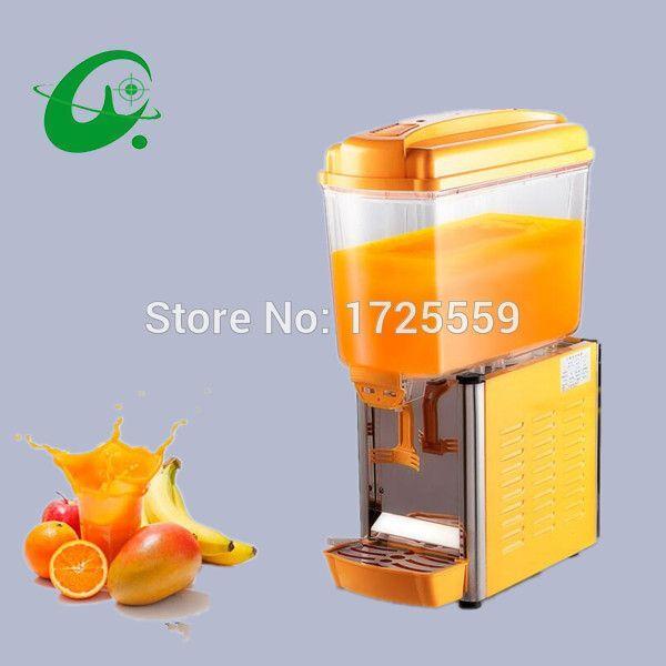 single head cold drink machine cooling one barrel blender 15L*2 volume dispenser fruit and vegetable juicer