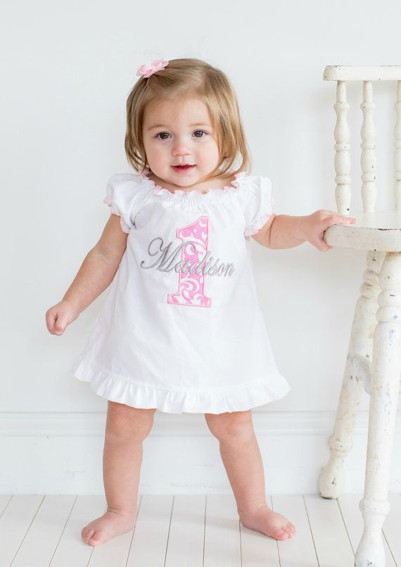 First Birthday Outfit Girl Baby 1st By Sassylocks