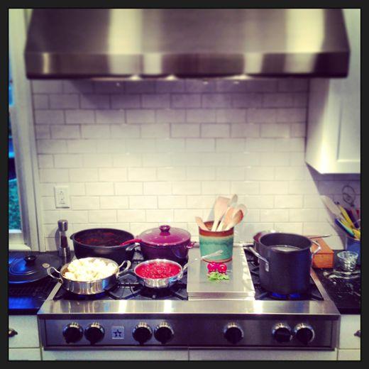 Installing my new BlueStar Rangetop and Prizer Hood - Kitchen ...