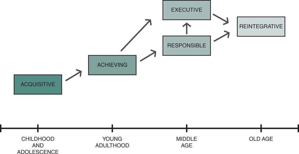 schaie stages of cognitive development