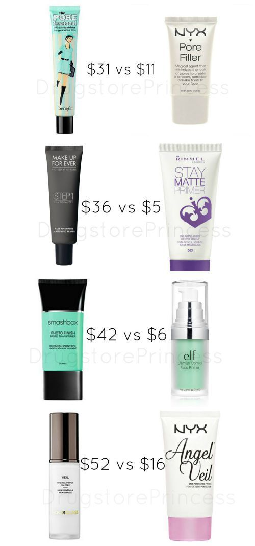 Face Primer Dupes For Your Skin Not All Face Primers Are Created