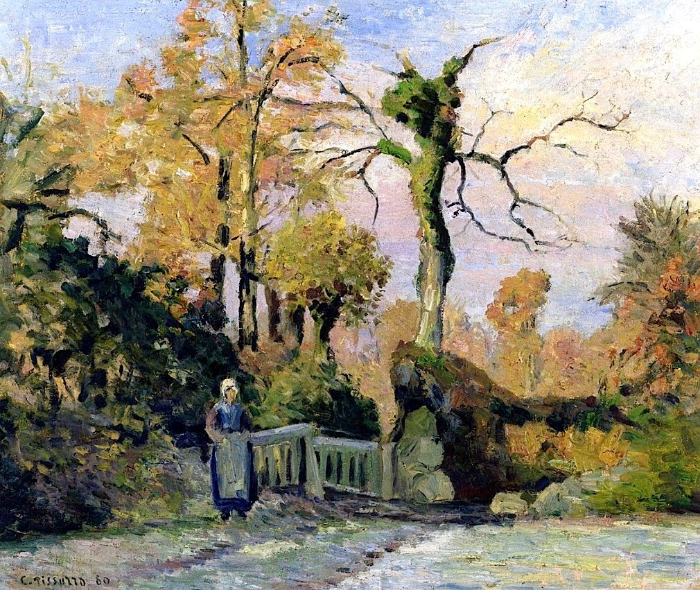 Landscape in Autumn Camille Pissarro - 1880