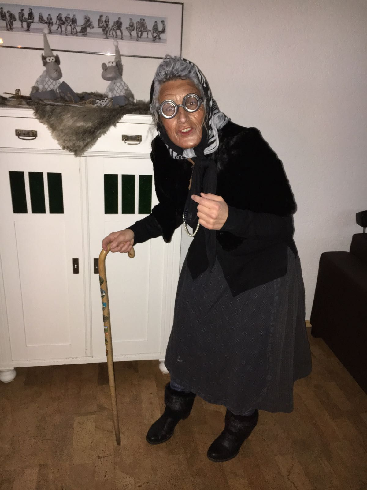 Kostüm Originell Oma Kostm Selber Machen Dress Up T Halloween