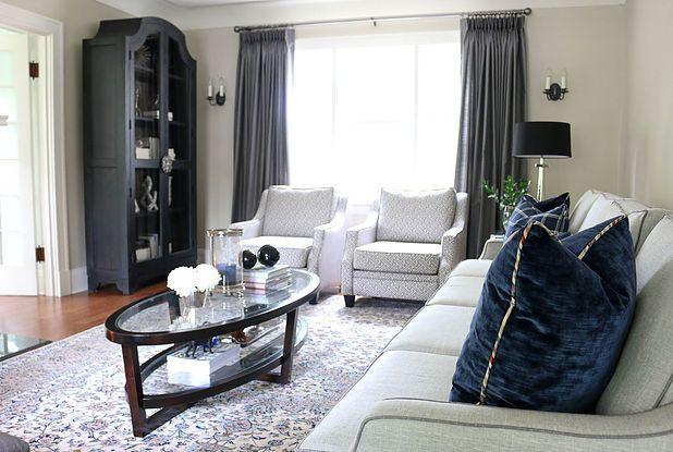 Ardmay Living Room Project Kendra Bester Design Interior Decorator