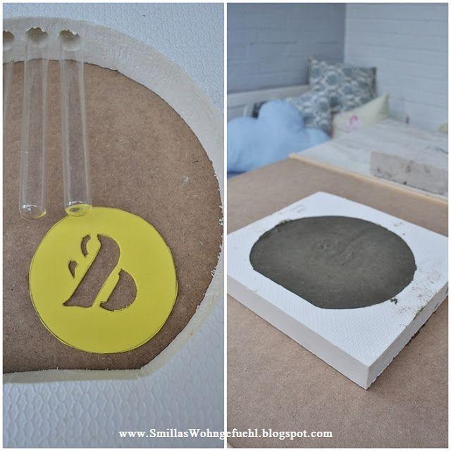 diy beton vase mal anders. Black Bedroom Furniture Sets. Home Design Ideas