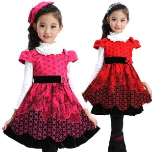 Girls clothing autumn and winter one-piece princess dress on AliExpress.com. $27.99