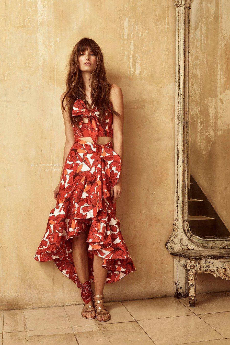 Johanna ortiz resort fashion show resorts dress suits and