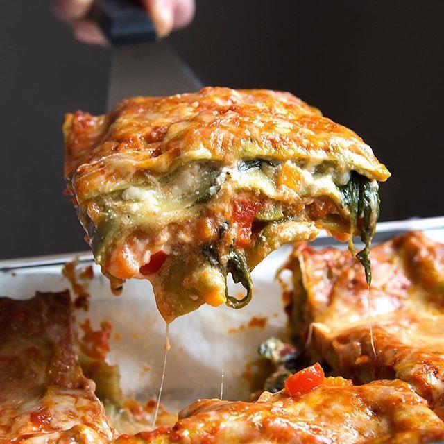 Gemüse-Lasagne - Madame Cuisine #zucchininoodles