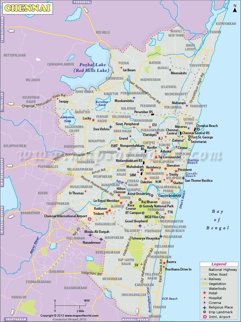 Maps In Chennai Chennai Map | chennai map | Chennai, Map, City maps