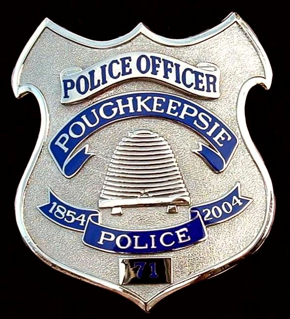 Poughkeepsie, NY Police Department Badge | Shield Police