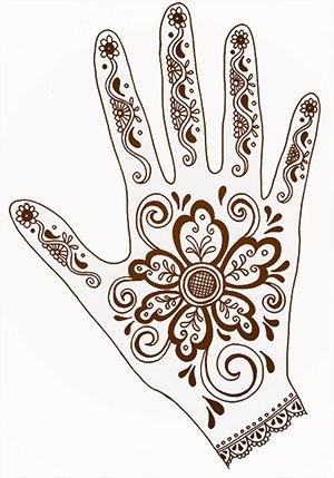 henna art + well thought out lesson
