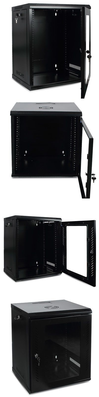 Racks Chassis And Patch Panels 51197 12u Wall Mount Network Equipment Server Data Cabinet Rack Glass Door Black Buy Patch Panels Glass Door Data Cabinet