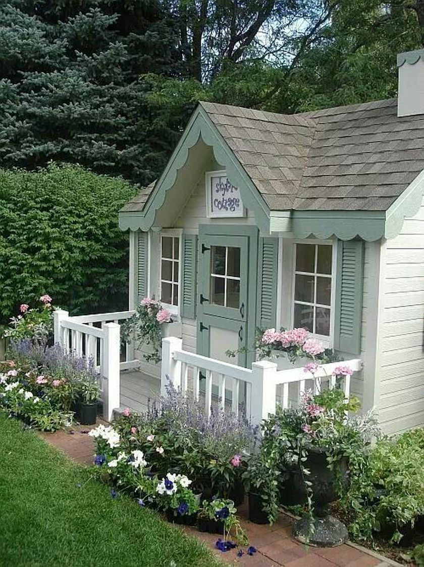 40 Best Small Front Yard for Tiny House Small cottage homes