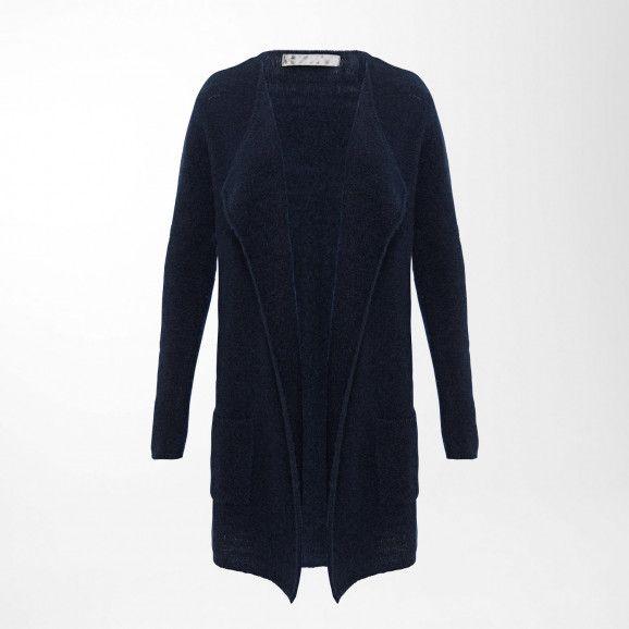 Long Cardigan aus Woll-Stretch | Bekleidung, Lange ...