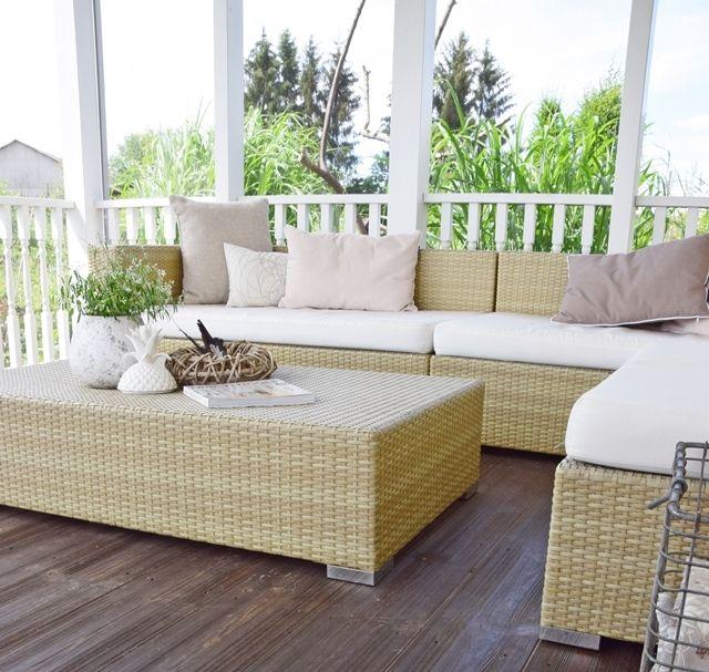 Gemütliche Möbel für eure Terrasse und Garten