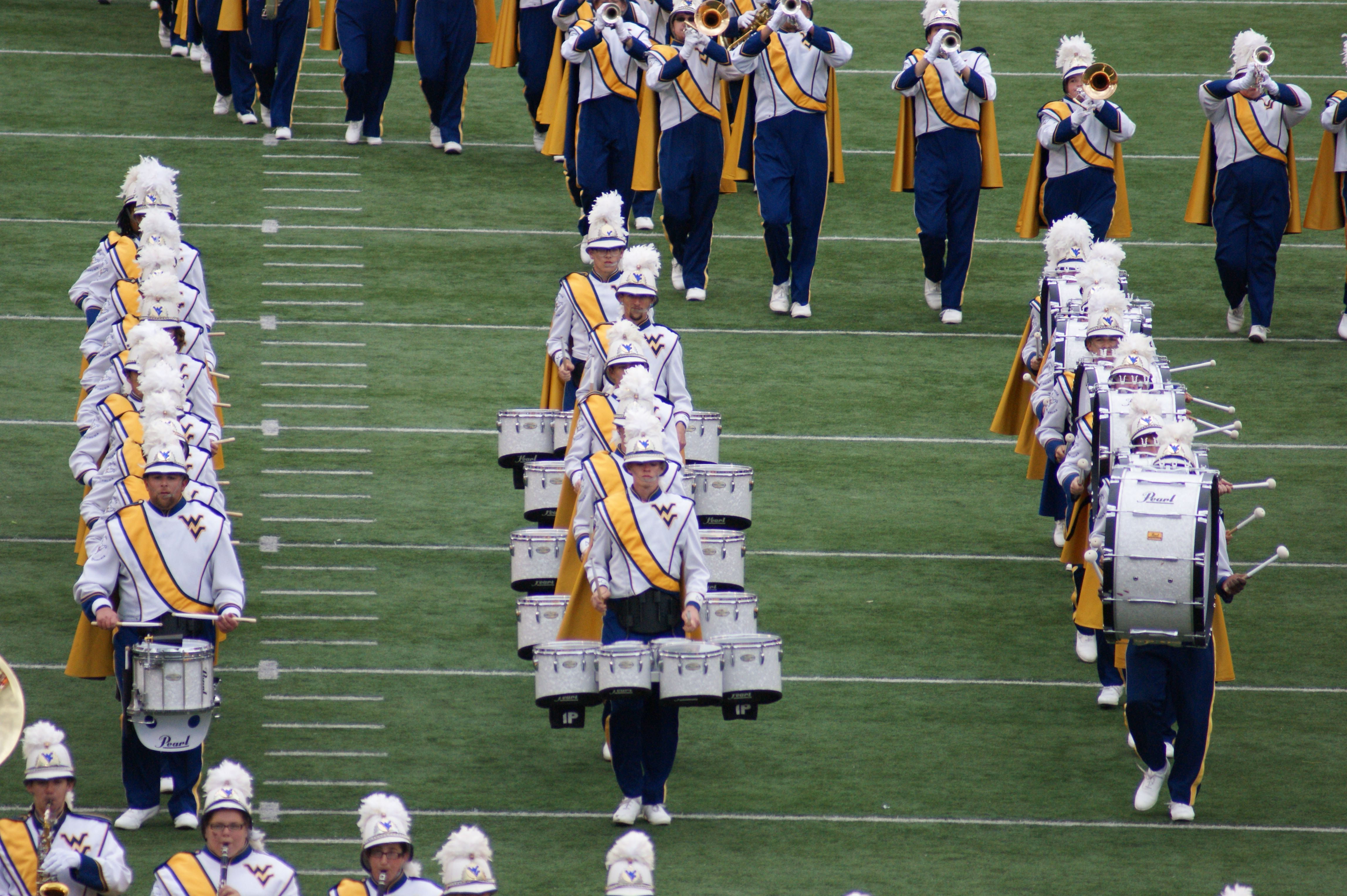 Mountaineer Marching Band 2014 Wvu football