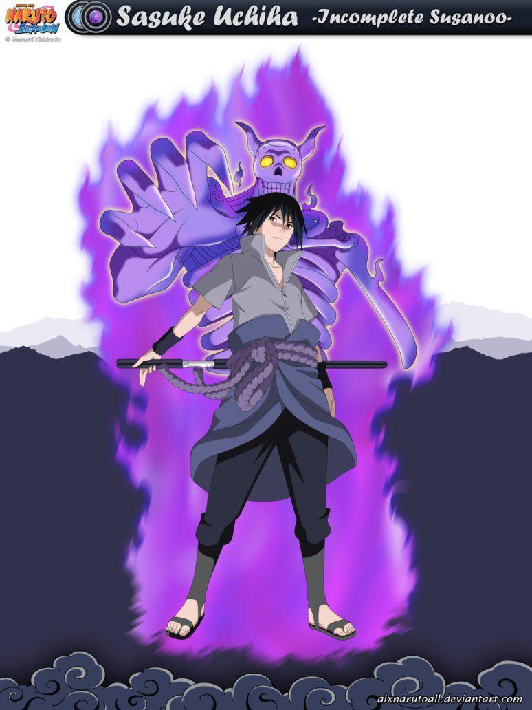Sasuke Uchiha Sasuke S Incomplete Susanoo By Alxnarutoall Deviantart Com On Deviantart Sasuke Uchiha Naruto Uzumaki Hokage Itachi Uchiha Art