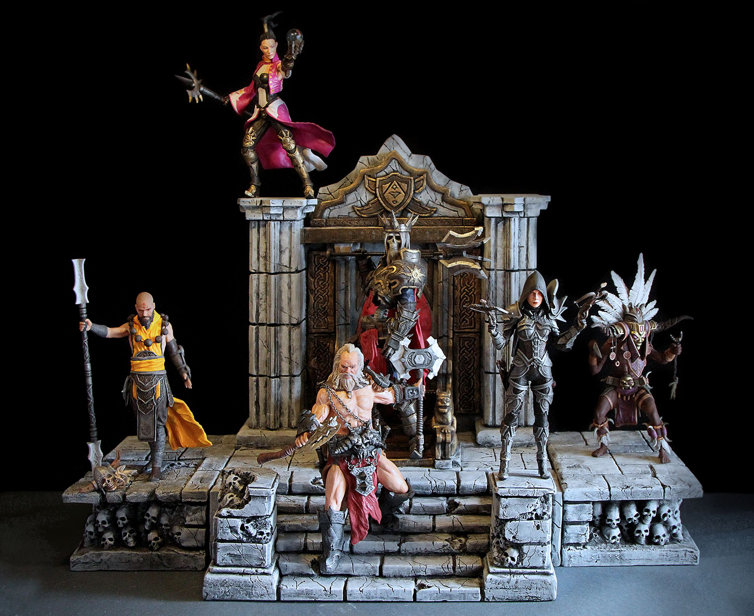 Diablo III action figures by Samo Kramberger  | Toys | Diablo