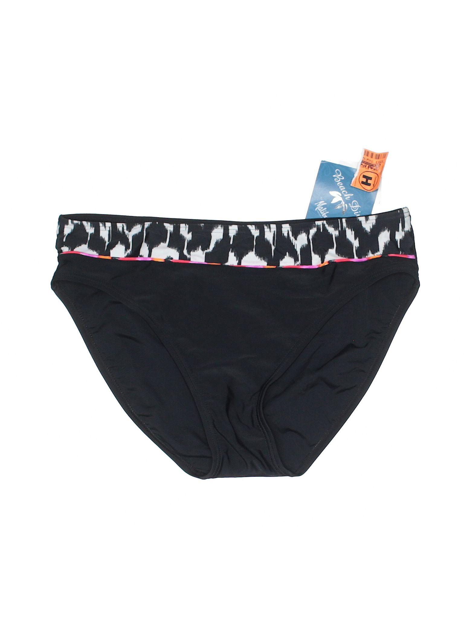8fdbb0c402 Beach Diva Swimsuit Bottoms: Size 14.00 Black Women's Swimwear - New With  Tags - $8.99