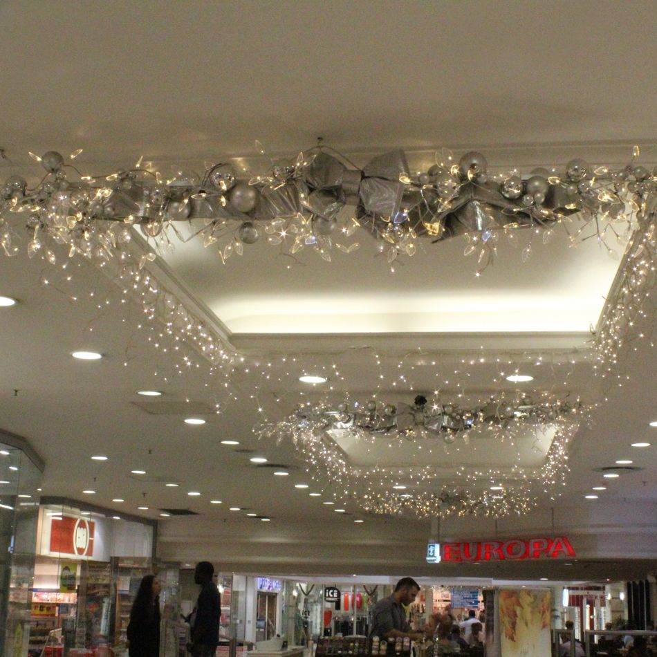 Paris Department Store Christmas Decorations: Killarney Mall Christmas Decor 2012