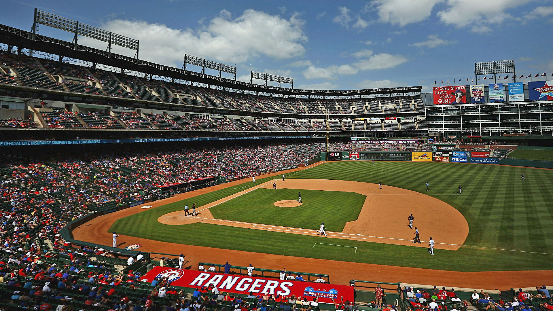 Globe Life Park Seat Map and Venue Information | Take Me Out ... on globe life park sponsors, globe life park concert, globe life park parking, globe life park tailgating,
