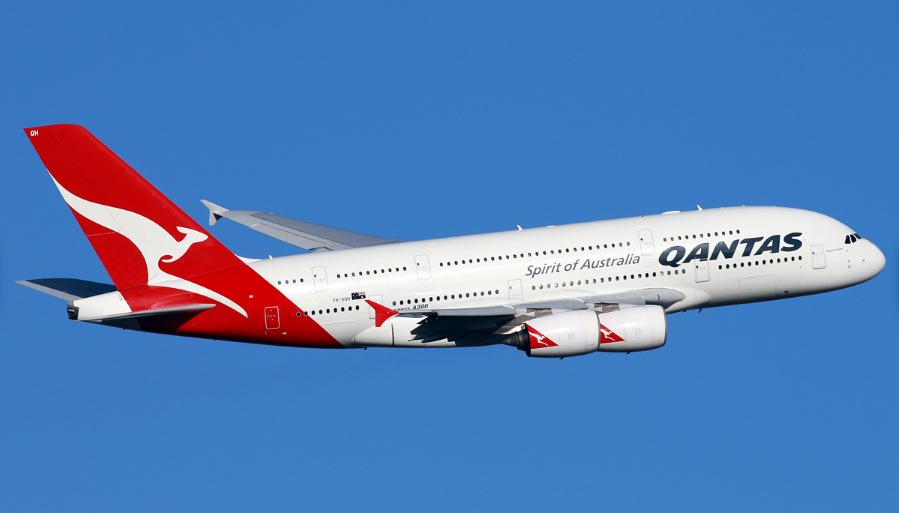Airbus A380842 Qantas エアバスa380, エアバス, 飛行機