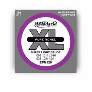 D'Addario EPN120 Pure Nickel - Regular Light