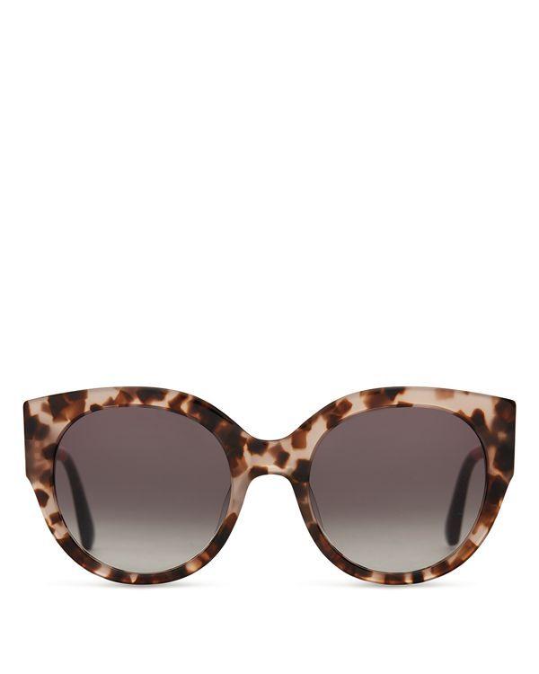 556c7273a9a34 Toms Luisa Oversized Cat Eye Sunglasses
