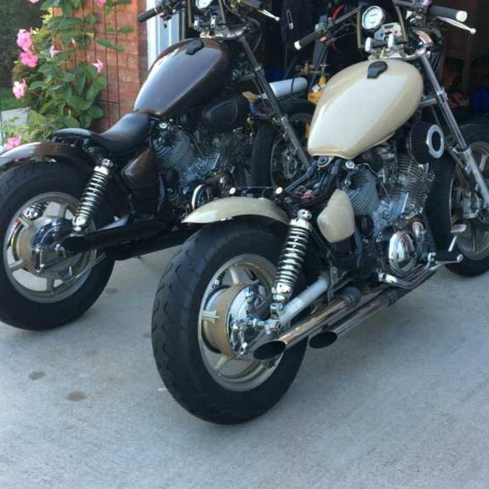 Yamaha Virago 1100 Bobber Motos Custom