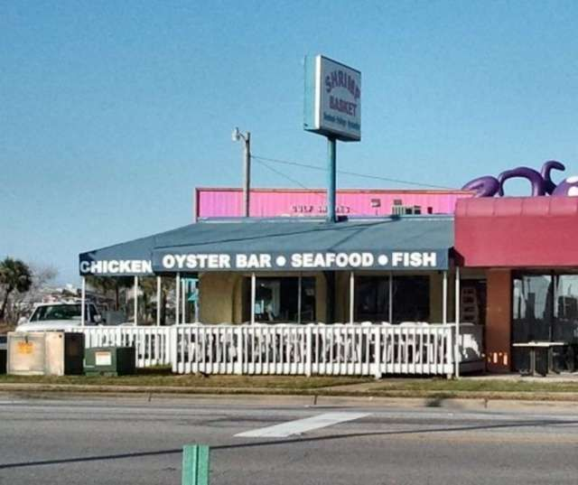 Great Places Eat Virginia Beach: Shrimp Basket. The. Best. Place. To. Eat. In Orange Beach